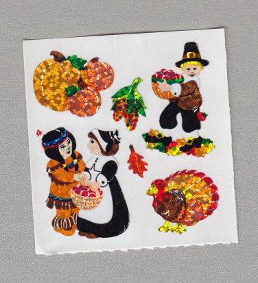 Sandylion Pilgrim Friendship Stickers Rare Vintage PM373