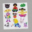 Sandylion Animal Masks and Kids Stickers Rare Vintage PM375