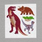 Sandylion Realistic Dinosaurs Stickers Rare Vintage PM390