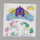Sandylion Unicorns and Castles Stickers Rare Vintage PM401
