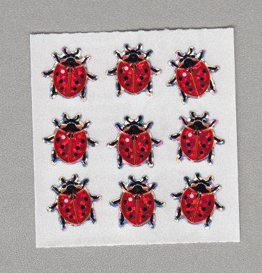 Sandylion Ladybug Stickers Rare Vintage PM425