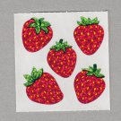 Sandylion Strawberries Stickers Rare Vintage PM455
