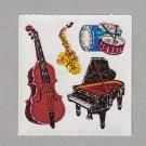 Sandylion Jazz Music Stickers Rare Vintage PM478