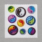 Sandylion Ying Yang Stickers Rare Vintage PM485