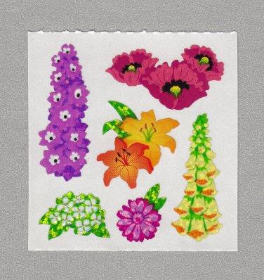 Sandylion Flowers Stickers Rare Vintage PM490