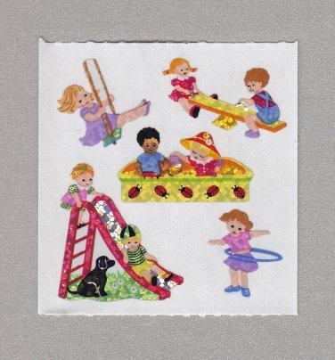 Sandylion Kids Playground Fun Stickers Rare Vintage PM491