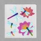 Sandylion Damselflies Dragonfly Stickers Rare Vintage PM518