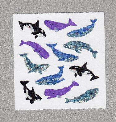 Sandylion Whales Stickers Rare Vintage PM531