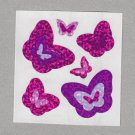 Sandylion Outlines Butterfly Stickers Rare Vintage PM582