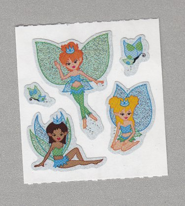 Sandylion Fairies Princess Stickers Rare Vintage PM590