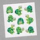 Sandylion Turtles Stickers Rare Vintage PM594