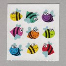 Sandylion Bees with Faces Stickers Rare Vintage PM601