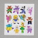 Sandylion Dancing Ballet Animals Stickers Rare Vintage PM900