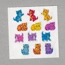 Sandylion Cats Kittens Stickers Rare Vintage PM901