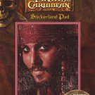 Disney Pirates of the Caribbean stickers - Stickerland Sticker Pad