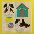 Sandylion Dog House Puppy bone ball Stickers Rare Vintage KK48