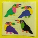 Sandylion Balloons Toucans Bird  Stickers Rare Vintage KK142