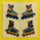 Sandylion Roller Skates Sport Stickers Rare Vintage KK158