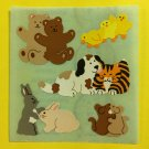 Sandylion Animal Friendship Bears Chicks Mice Rabbits Bunnies Dog Cat Stickers Rare Vintage KK256