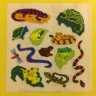 Sandylion Lizards Frogs Snakes  Stickers Rare Vintage KK341
