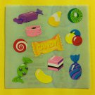Sandylion Candy Jelly Bean Gum Stickers Rare Vintage KK355