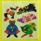 Sandylion Animal Super Heros Stickers Rare Vintage KK364