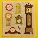 Sandylion Clocks Wall Grandfather Cuckoo Desk Stickers Rare Vintage KK365