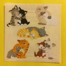 Sandylion Cuddling Cats Kittens Stickers Rare Vintage KK373