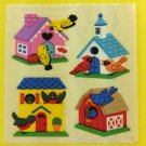 Sandylion Bird Houses Stickers Rare Vintage KK359