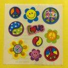 Sandylion Retro Peace Love Power Stickers Rare Vintage KK393