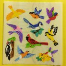 Sandylion Assorted Birds Cardinal Blue Jay Woodpecker  Stickers Rare Vintage KK396