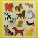 Sandylion Assorted Dogs Poodle German Shepherd Boxer Stickers Rare Vintage KK398