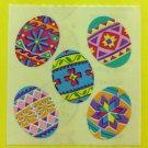 Sandylion Ukranian Eggs Easter Colored Stickers Rare Vintage KK406