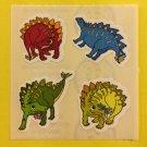 Sandylion Dinosaur Stegosaurus Stickers Rare Vintage KK495