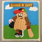 Sandylion Scratch and Sniff Smelly PEANUT Stickers Retro Rare Vintage SF09