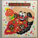 Sandylion Scratch and Sniff Smelly PIZZA Stickers Retro Rare Vintage SF10