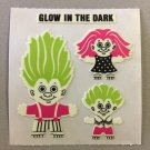 Sandylion Glow in the Dark TROLLS Stickers Retro Rare Vintage HG16
