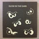 Sandylion Glow in the Dark GLOWING EYES Halloween Stickers Retro Rare Vintage HG34