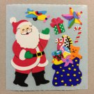 Sandylion Santa Toys Sack Christmas Stickers Retro Rare Vintage XKK154