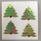 Sandylion Mother of Pearl MOP Christmas Trees Retro Rare Vintage XMOP290