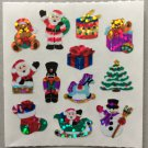 Sandylion Christmas Bear Santa Drum Toys Snowman Santa Soldier Present  Retro Rare Vintage XPM66