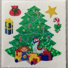 Sandylion Christmas Tree with Gifts Presents Retro Rare Vintage XPM476