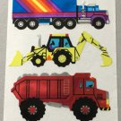 Sandylion Trucks Construction Dump Digger Tractor Trailer Stickers Rare Vintage MY36