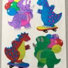 Sandylion  Dinosaurs at Play Stickers Rare Vintage MY47