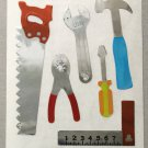 Sandylion Tools Hammer Saw Screwdriver Pliers Handyman Construction Stickers Rare Vintage MY66