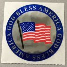 Sandylion God Bless American USA Patriotic Stickers Rare Vintage MY168
