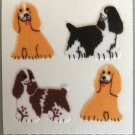 Sandylion Fuzzy COCKER SPANIEL Dog Puppy Retro Rare Vintage Retired FM138