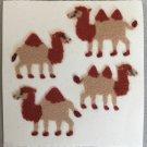 Sandylion Fuzzy Stickers CAMELS desert Retro Rare Vintage Retired FM204