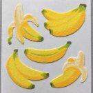Sandylion Fuzzy BANANAS Fruit Retro Rare Vintage Retired FM384