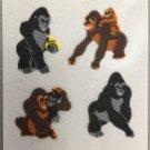 Sandylion Fuzzy APE monkey Retro Rare Vintage Retired FM439
